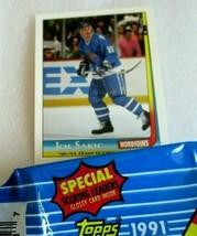 1991-92 Joe Sakic Topps Special Scoring Leaders Glossy Card insert! NM H... - $3.07