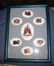 Disneyland 40 Years of Adventure Public Framed Pin Set - $29,500.00
