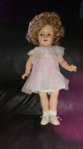 RARE 1934 SHIRLEY TEMPLE PROTOTYPE DOLL-IDEAL - $215.99