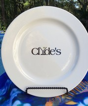 "CLYDE'S HOMER LAUGHLIN 12 1/4"" PLATTER OLIVE MARTINI STEM GRAPHICS - $26.13"