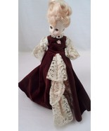 1979 Horsman Doll Brown Velvet Dress Country Western Tammy Wynette Bouff... - $20.44