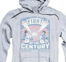 Rocky Fight of the Century Balboa vs Creed Graphic Hoodie Retro 70's 80's MGM357 image 3