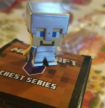 Minecraft STEVE with Iron Armor - Blind Box - Chest Series 3 - New - $10.40