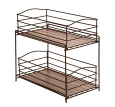 Seville Classics Iron Storage Organizer Sliding... - $37.55