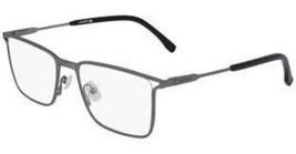 NEW Lacoste L2262 024 Matte Dark Grey Eyeglasses 56mm with Lacoste Case - $89.05