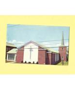 Vintage Color Post Card,  ATLANTIC METHODIST CHURCH, Ocean City, Maryland - $3.50