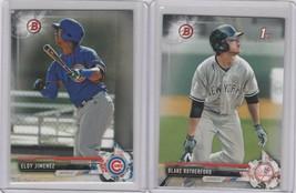 2017 Bowman Prospects Blake Rutherford Eloy Jimenez Yankees Cubs - $1.85