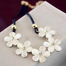 Crystal Flower Chokers Necklace Necklaces & Pendants Woman Gift - $9.99