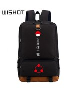 WISHOT NARUTO Uchiha Clan Backpack Schoolbag Daypack Japanese Anime Cosp... - $49.76