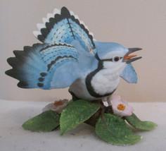 1995 Lenox Blue Jay Garden Bird Collection Fine Porcelain Figurine - $28.52