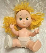 Vintage Eugene  Gumdrop Doll 1981 Yellow Yarn Hair