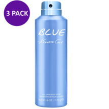 Kenneth Cole Blue All Over Body Spray For Men, 6 oz (3 PACK) - $32.68