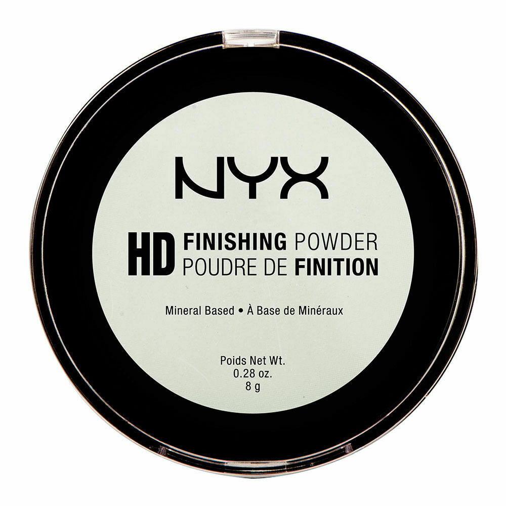 Primary image for NYX HD Finishing Powder Mint Green 0.28 oz