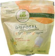 Grab Green Tangerin Garbage Disposal Clean 12 CT - $15.38