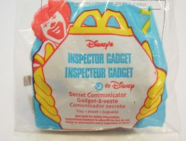 Inspector Gadget Secret Communicator Action Figure Disney McDonalds 1999 - $4.99