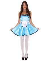 Adult Women's French Maid Uniform Costume    Lake Blue Cosplay Costume - $23.85+