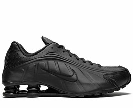 NIKE SHOX R4 TRIPLE BLACK TRAINERS SNEAKERS WOMEN SHOES BV1111-001 - $138.55