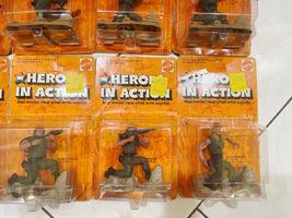 Lot (12) NOS Vintage 1974 Mattel Heroes in Action Card Figure Sealed Package image 7