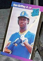 1989 DonRuss Rated Rookie Ken Griffey Jr. AA20-BTC3028 Baseball Trading Cards #  image 5