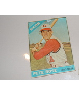 PETE ROSE Topps 1966 Vintage Baseball Card - $7.00