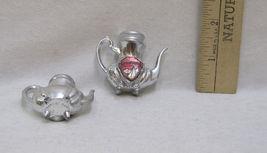 Miniature Salt & Pepper Shakers Teapot Shaped Minnesota Souvenir Sail Boats Pair image 4