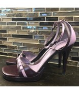 Guess by Marciano mauve burgundy plum heels - $40.59