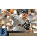 Baseball Card- Curt Schilling 2009 Upper Deck #47 - $1.25