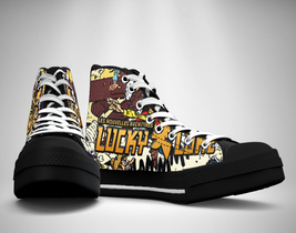 Lucky Luke Comics Canvas Sneakers Shoes - $29.99