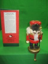 """Vintage Kurt S. Adler 7"""" Christmas Soldier Nutcracker Stocking Hanger - $16.79"""