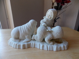 "Dept. 56 Snowbabies Retired ""I Can't Find Him w/Walrus"" Figurine  - $35.00"