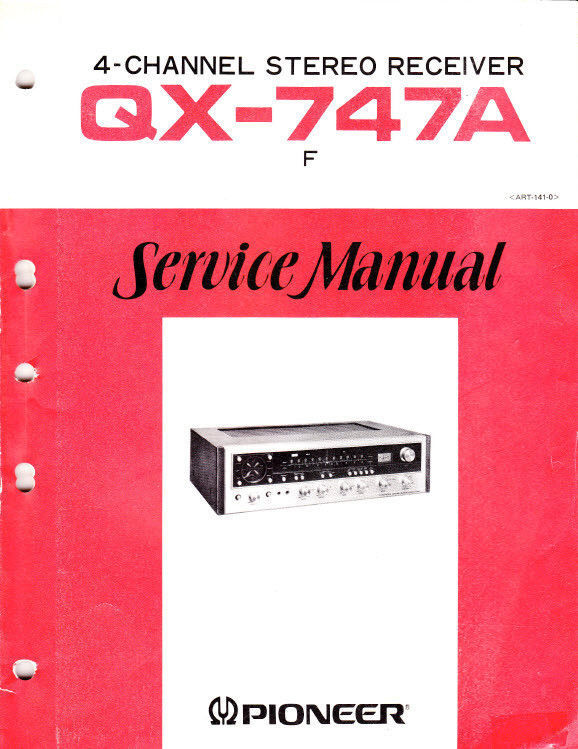 Pioneer qx 747 owner manual service manual and 11 similar items t2ec16n ee9s2ufgombsdjkzgd8g 60 3 fandeluxe Images