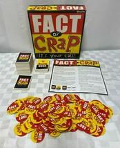 Fact Or Crap Board Game 2006 - $12.65