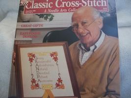 Classic Cross-Stitch Magazine June/July 1990 - $5.00