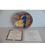 "1994 Disney Beauty & The Beast Collector Plate ""The Spell Is Broken"" - $31.99"