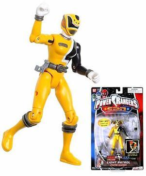 Primary image for Power Rangers SPD YELLOW Light Space Patrol Delta NEW Action Figure