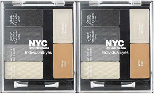Primary image for NYC New York Color Individual Eyes Shadow Compact #944 SMOKEY CHARCOALS (PCK OF