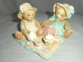 Cherished Teddies 1992 Freda and Tina Our Friendship is a Perfect Blend ... - $12.86