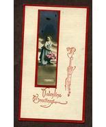 Vintage Valentine Card Greetings Cupids Germany Postcard - $3.99