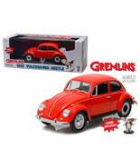 1967 Volkswagen Beetle Gremlins Movie (1984) with Gizmo Figure 1/18 Diec... - $93.76