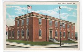 Post Office Du Bois Pennsylvania 1920s postcard - $5.45