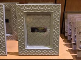 Disney Parks Exclusive Mickey Ear Ceramic Photo Frame New - $43.64