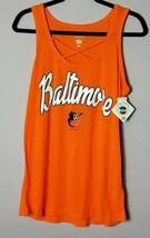 Campus Lifestyle Baltimore Orioles Womens Medium Orange Tank Top - $22.45
