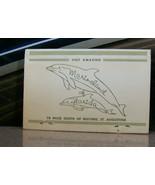Vintage Matchbook Y4 St Augustine Florida Historic Marineland Dolphins A... - $44.99