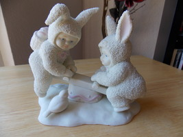 "Dept. 56 Snowbunnies ""I'm teeter You're Totter"" Figurine  - $30.00"