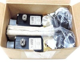LOT OF 2 NIB BURKERT 00453018 SOLENOID VALVES 1/4NPT, 145PSI, 120V, 60HZ, 8W