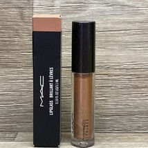 MAC OH BABY 301 Lipglass  NEW IN BOX FULL SIZE LIP GLOSS AUTHENTIC - $19.98