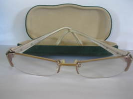 (MX-6) Guess Marciano pair of EyeGlasses GM-143, GLD, 53/17-135 - $65.00