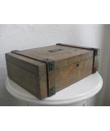 Amazing Arts and Crafts Oak Wooden Box c1910 - $295.00