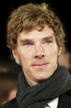 Benedict Cumberbatch Candid With Scarf 18x24 Poster - $23.99