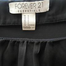 Forever 21 Essentials Dress Women's Size S Black Gray DB13 image 7